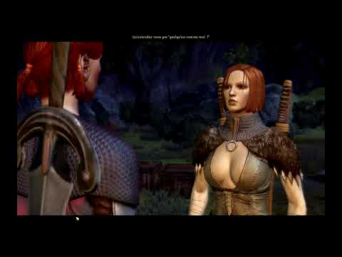 Dragon Age Origins  English VS French : Leliana