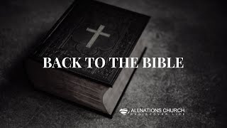 Pastor John Ahern: Back To The Bible