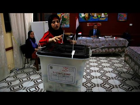 Final day of voting in Egyptian presidential election