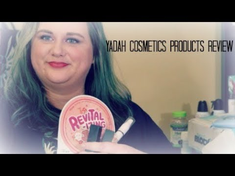 Yadah Cosmetics Products Review