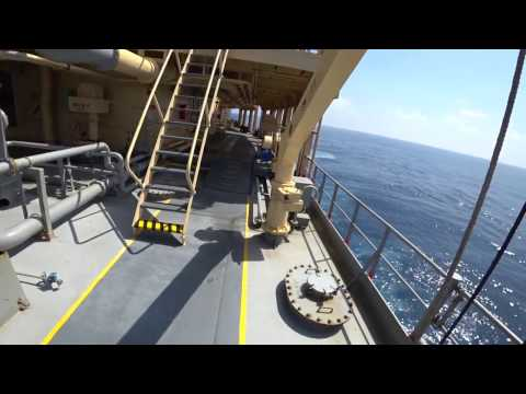 How to repair hole in cargo tank of super tanker