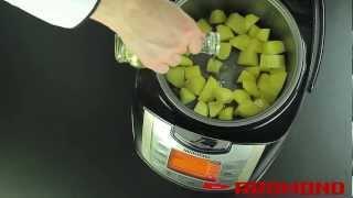 Картофель с сыром и фасолью в мультиварке REDMOND RMC-M4502