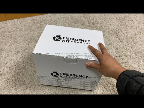 Japanese Emergency Earthquake Kit Unboxing