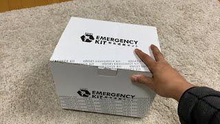 Japanese Emergency Earthquake Kit Unboxing