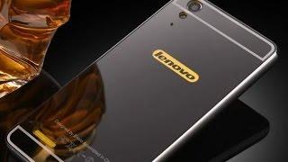 Металлический , зеркальный чехол для Lenovo A6000/A6010/K3. Metallic mirror case for Lenovo A6000.
