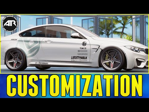 Forza Horizon 3 : CUSTOMIZATION!!! (Everything You Need To Know About FH3 Customization)
