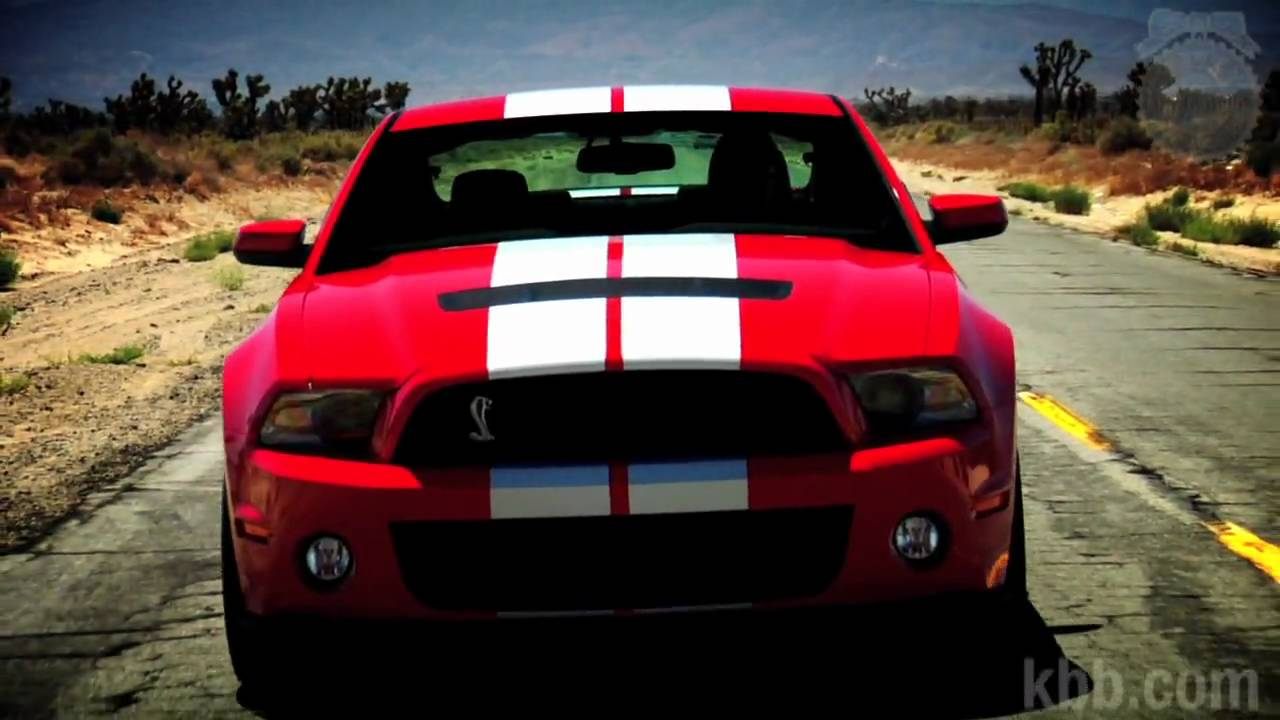 2010 ford mustang shelby gt500 review kelley blue book youtube