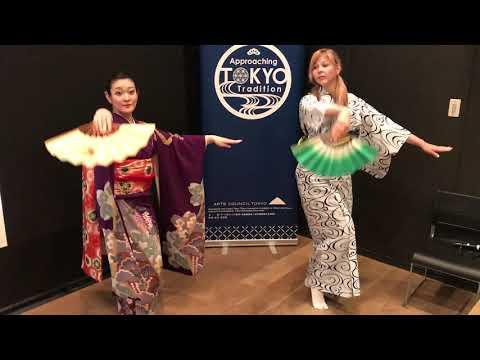 Ukázka tradičního japonského tance