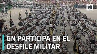 Guardia Nacional participa en desfile militar del 16 de septiembre, por primera vez - Las Noticias
