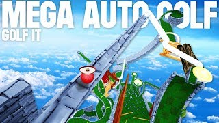 THE BIGGEST AUTO COURSE EVER? -  Golf It