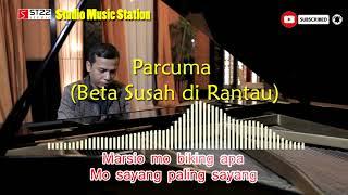 Lagu ambon - PARCUMA (beta susah di rantau) - cover musik karaoke