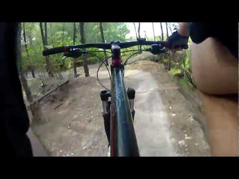 GoPro Virginia Key Mountain Bike Trails from Key Biscayne FLorida
