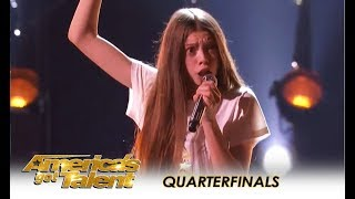 Courtney Hadwin: Shy British Schoolgirl With SHOCKING Talent WOWS! | America