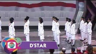 Kereen!!Bikin Bangga!! Lihat Formasi Baris Berbaris Paskibraka 2019 di Panggung D'star