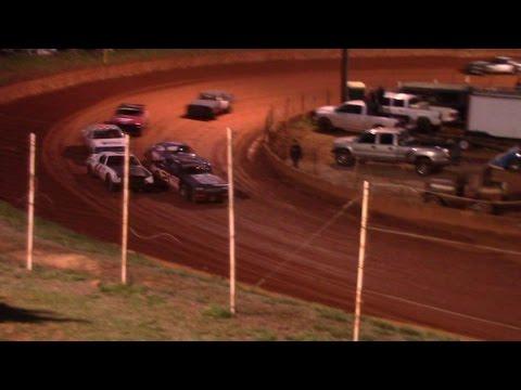 Winder Barrow Speedway Street Stock Race Opening Night 3/19/16