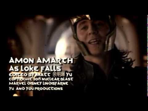 AMON AMARTH - As Loke Falls - fan made Music Video - AVENGERS / THOR