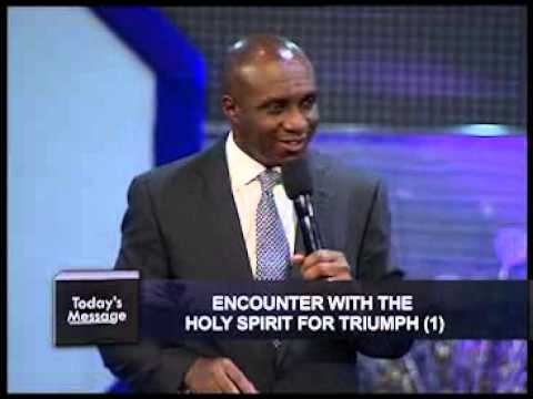 David Ibiyeomie   Encounter With The Holy Spirit For Triumph Pt1