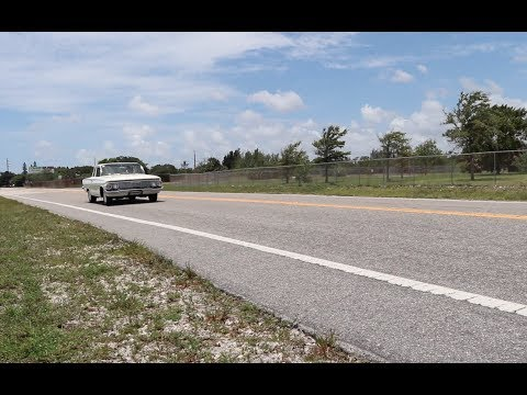 1961 Chevrolet Belair 413ci stroked motor 4 speed Test Drive (Sleeper)
