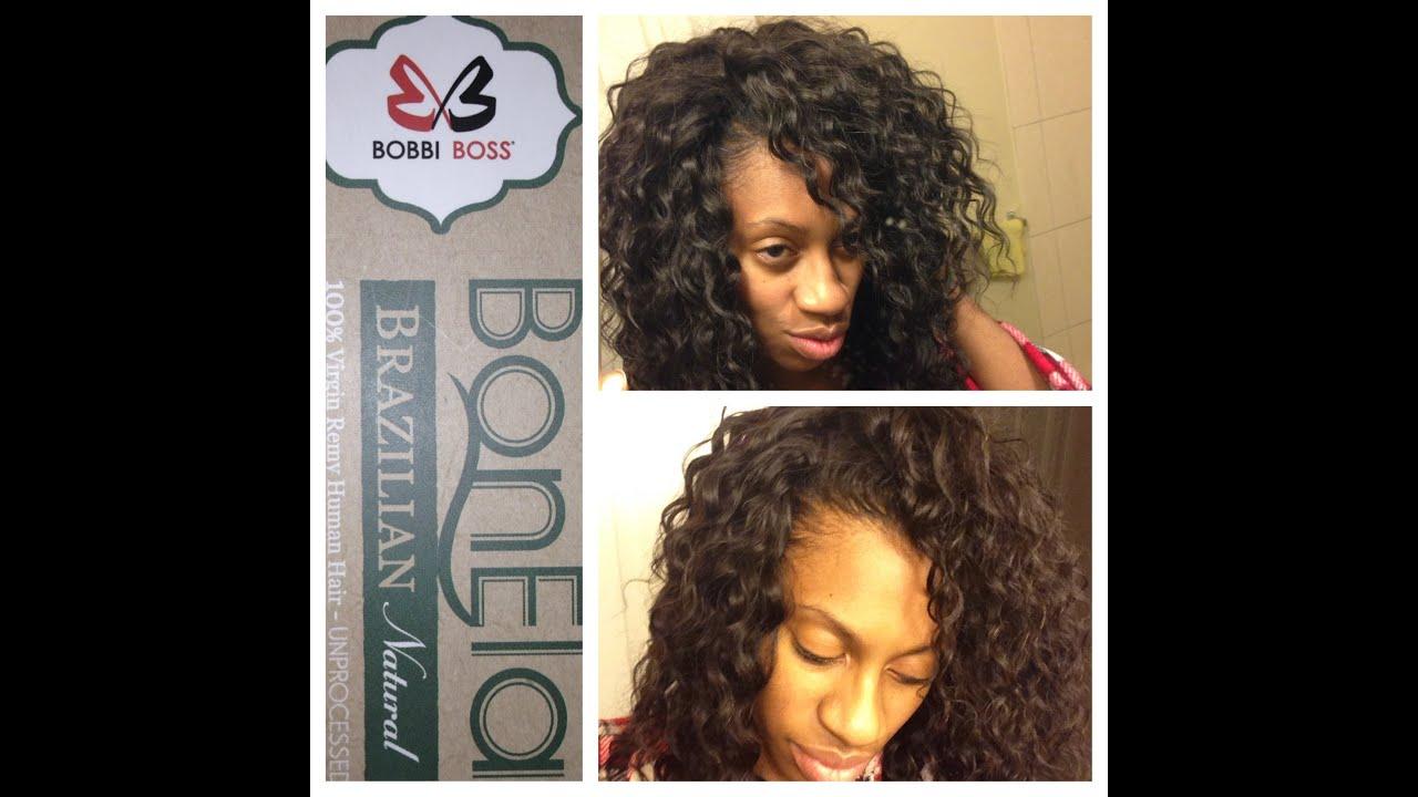 Bobbi Boss Bonela Brazilian Unboxing Beauty Supply Hair
