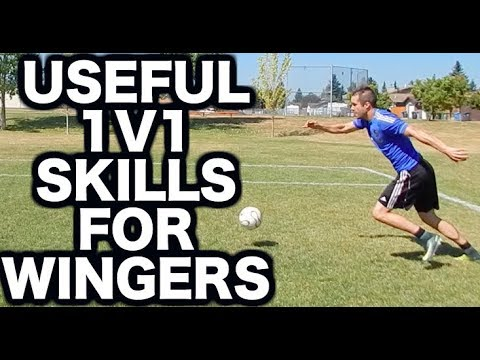 Soccer moves for wingers | Easy soccer skills and soccer tricks to get past  a defender as a winger