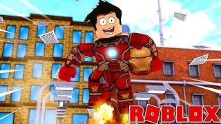 I've been a SUPER HEROS! Roblox!