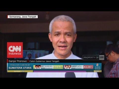 Ganjar Pranowo Menang Di Quick Count: Terimakasih Pendukung & Masyarakat, Jawa Tengah Damai