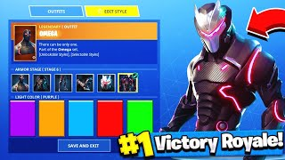 How to Change Skin Colors in Fortnite Battle Royale! (Omega and Carbide Skin Colors)