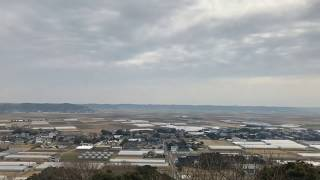曇り空で霞んでる空。 旭市 万歳自然公園にて。 iphone7+smoothQで撮影...