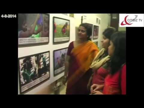 THE CLICK RIGHTS 2014 Photo Exhibition from CRY Held in Bangalore( CITIBIZ TV news)