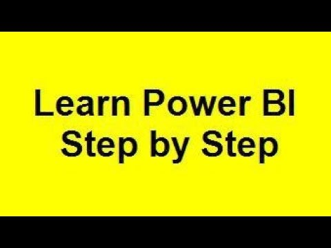 power bi tutorial for beginners thumbnail
