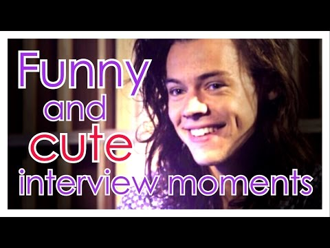 Harry Styles - Funny and cute interview moments