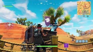Fortnite Battle Royale - Season 6 Week 2 Hunting Party Secret Banner Location