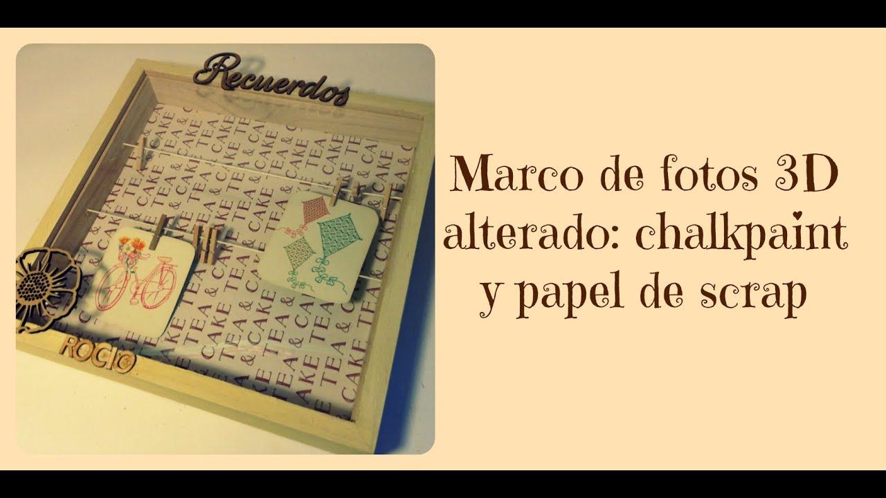 Decorar Un Marco De Madera 3d