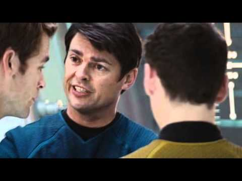 Karl Urban as Dr. Leonard McCoy