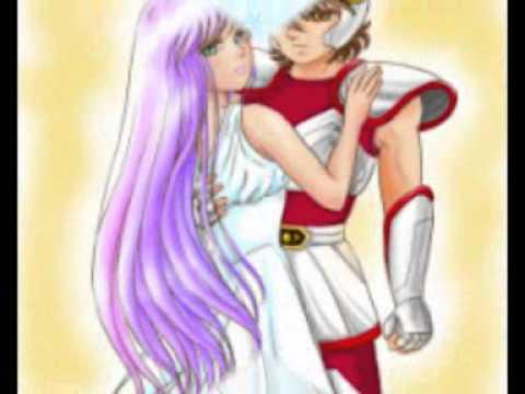 Seiya and Saori (Everytime We Touch)