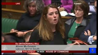 EU Withdrawal Bill Debate Day 1