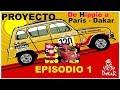 Renault 4L Transformación a Paris-Dakar ? Episodio 1 Mecánica - Coche clásico popular