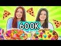 PIZZA Challenge con mia SORELLA - Speciale 600k