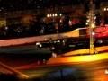 Nitrolympx 2010: Raketendragster bei der Night Show