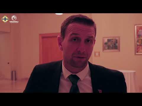Ian Baraclough on 'manic last ten minutes' in Albania