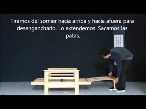 Sofa cama convertible modelo tao estructura haiku futon youtube - Haiku futon ...