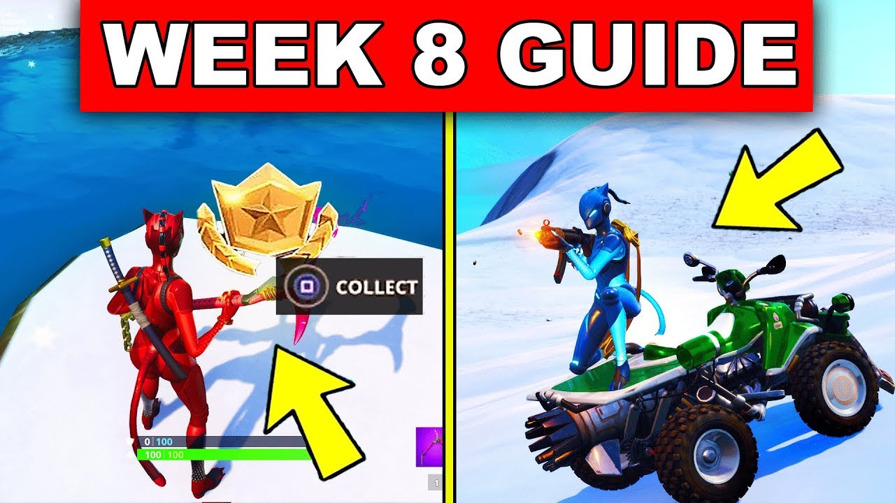fortnite week 8 challenges guide search between a mysterious hatch deal damage riding a vehicle - forbes fortnite challenges week 8