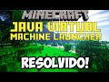Corrigindo Erro Java Virtual Machine Launcher no Minecraft