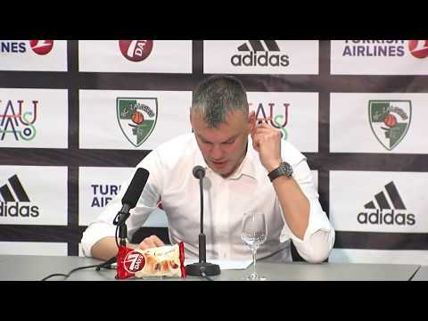 EuroLeague: Žalgiris Kaunas – Unicaja Malaga press conference