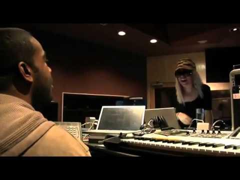 Lady Gaga in The STUDIO creating TELEPHONE w/Rodney Jerkins (DARKCHILD)