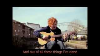 Ed Sheeran: Lego House (acoustic official version) with LYRICS