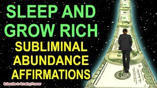 Subliminal ABUNDANCE Affirmations while you SLEEP! Program Your Mind Power for WEALTH & PROSPERITY!!