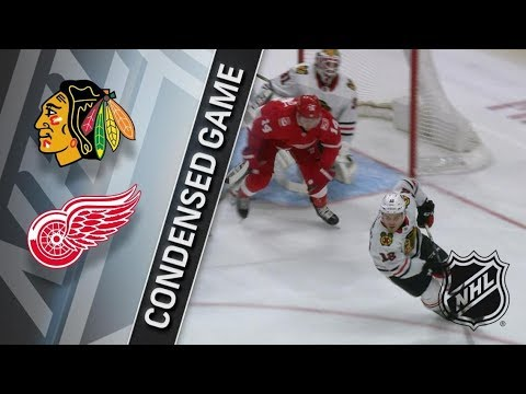 Chicago Blackhawks vs Detroit Red Wings – Jan. 25, 2018 | Game Highlights | NHL 2017/18. Обзор матча