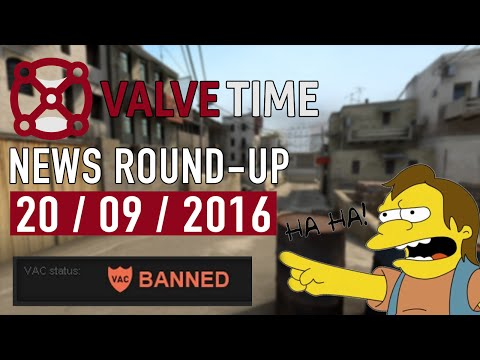 Big VAC Bans + Changes For Steam Reviews! - ValveTime News Round-Up (20th September 2016)