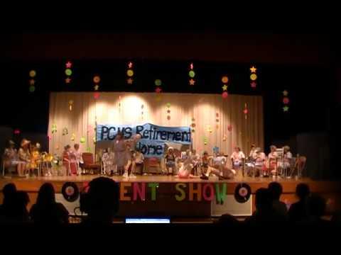 Penn Cambria Middle School Talent Show 2017 Teacher Act - PCMS Retirement Home